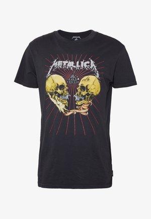 AI METALLICA - T-shirt z nadrukiem - black