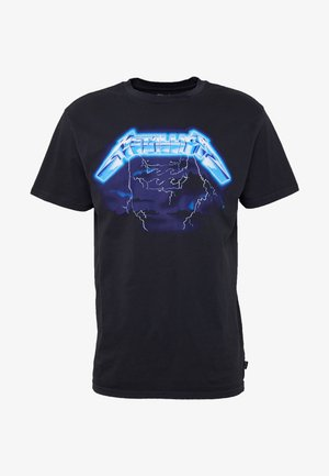 RIDE THE LIGHTNING - T-shirt print - black