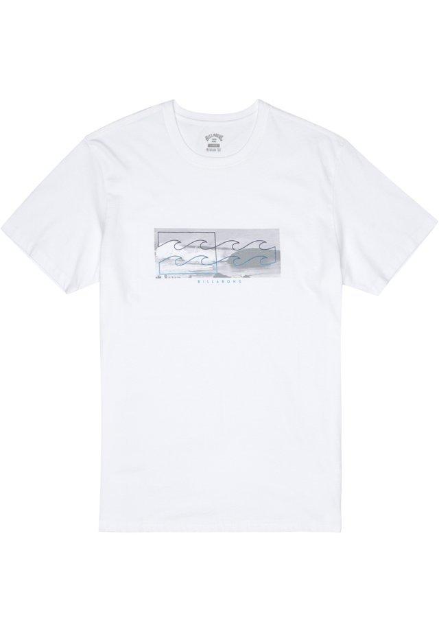 INVERSE  - T-Shirt print - white