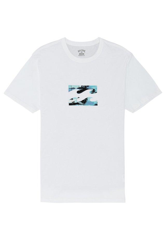 TEAM WAVE  - T-Shirt print - white