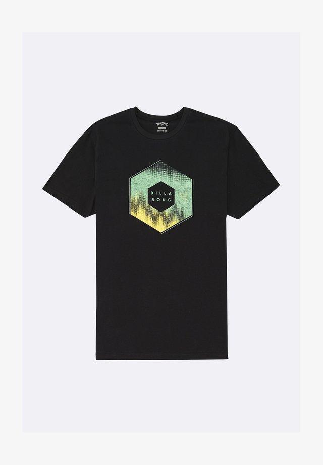 X CESS  - T-shirt print - black