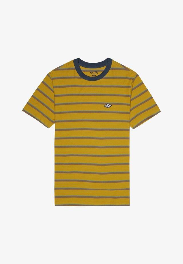 DIE CUT  - T-Shirt print - gold