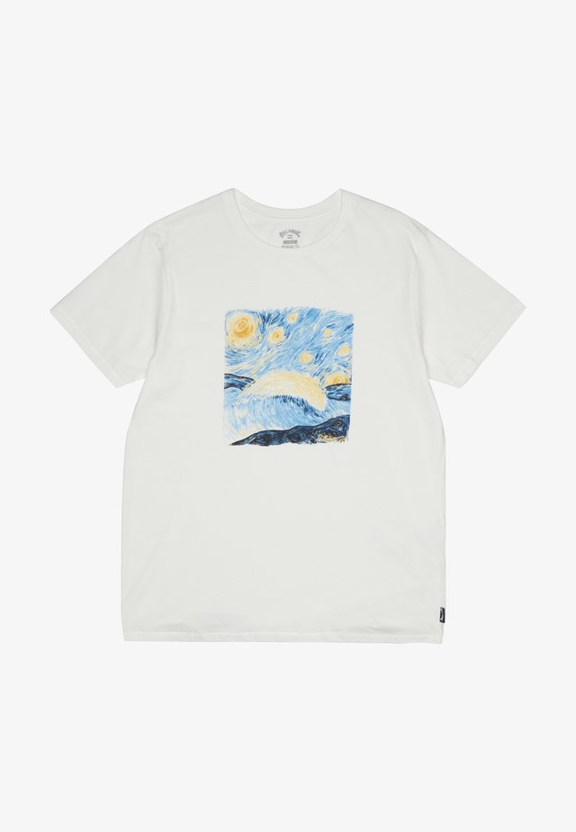 NIGHT SESSION  - T-Shirt print - snow