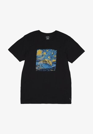 NIGHT SESSION  - Print T-shirt - black