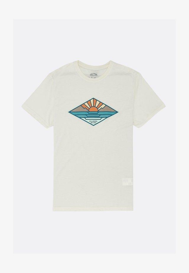 T-shirt print - vapor