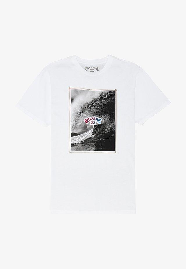 THE INSIDE - T-shirt print - white