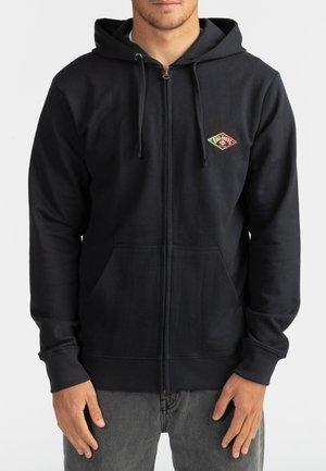 DIAMOND  - Zip-up hoodie - black