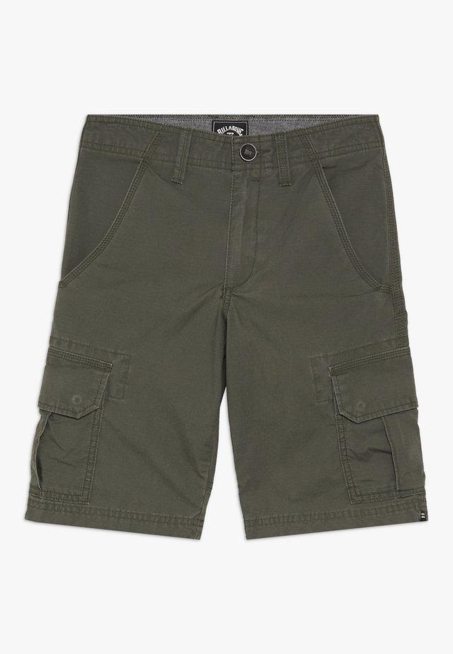 SCHEME BOY - Pantaloni cargo - military