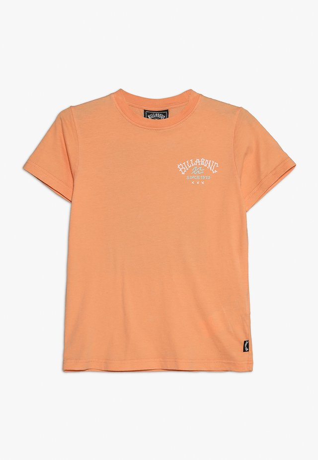 GET BACK BOY - T-shirt con stampa - cantaloupe