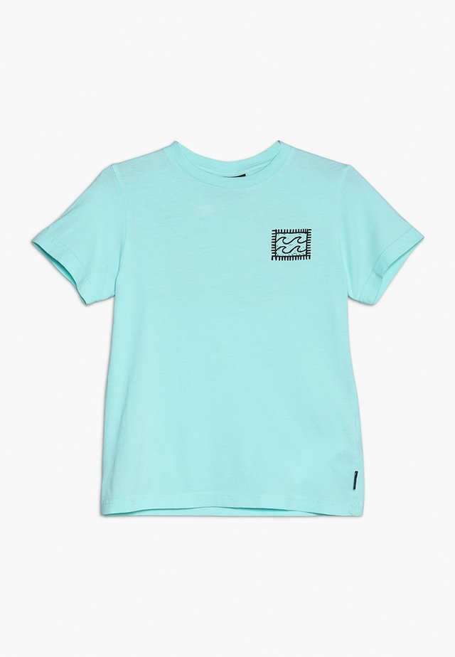 NAIROBI BOYS - T-shirt con stampa - spearmint