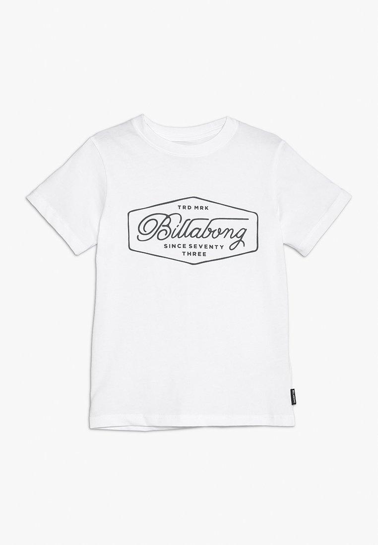 Billabong - TRADEMARK BOYS - Print T-shirt - white
