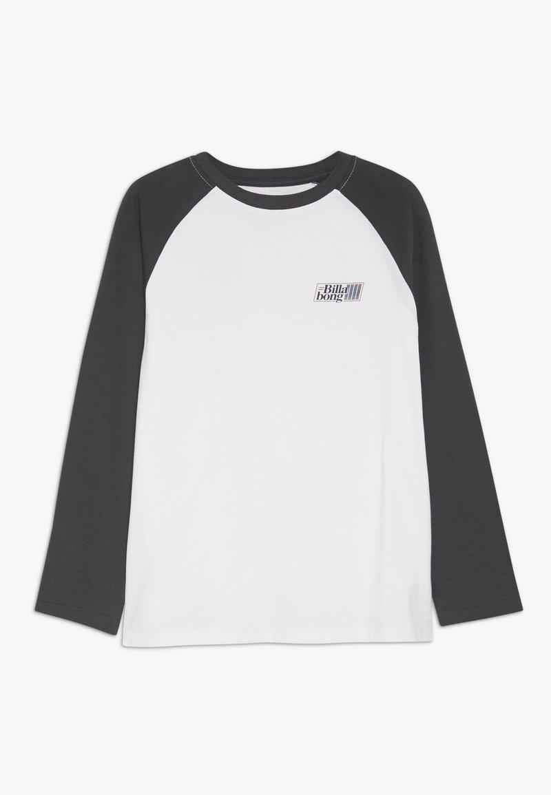 Billabong - SUPER 8 TEE BOY - Pitkähihainen paita - white