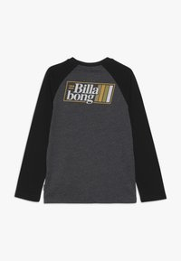 Billabong - SUPER 8 TEE BOY - Långärmad tröja - black heather - 1