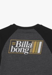 Billabong - SUPER 8 TEE BOY - Långärmad tröja - black heather - 4
