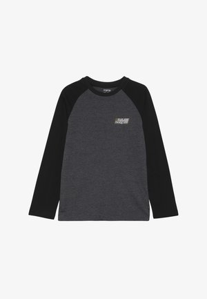 SUPER 8 TEE BOY - T-shirt à manches longues - black heather