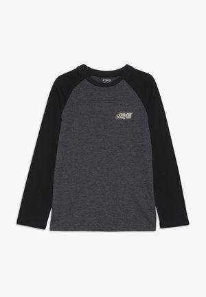 SUPER 8 TEE BOY - Longsleeve - black heather