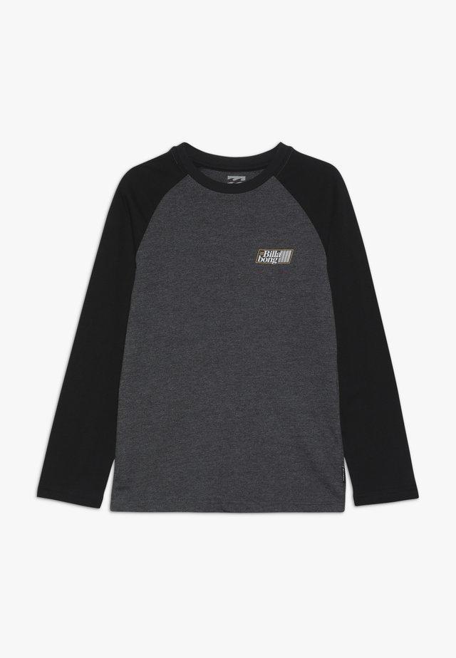 SUPER 8 TEE BOY - Maglietta a manica lunga - black heather