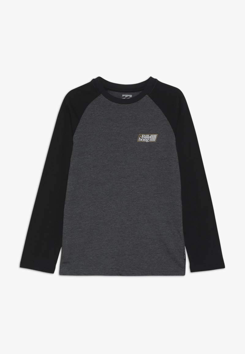 Billabong - SUPER 8 TEE BOY - Långärmad tröja - black heather