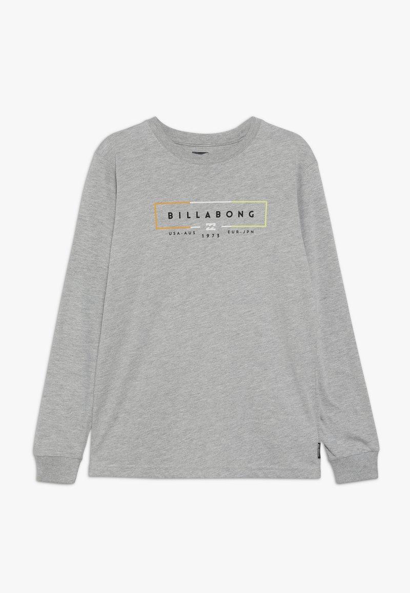 Billabong - UNITY BOY - Long sleeved top - grey heather