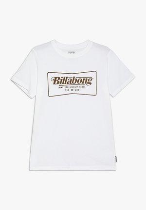 TEE BOY - T-shirt imprimé - white