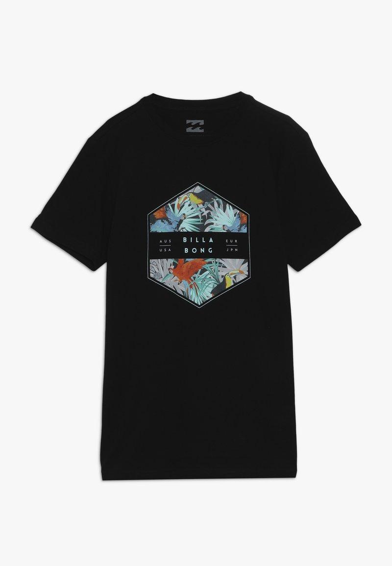 Billabong - ACCESS TEE BOY - Print T-shirt - black
