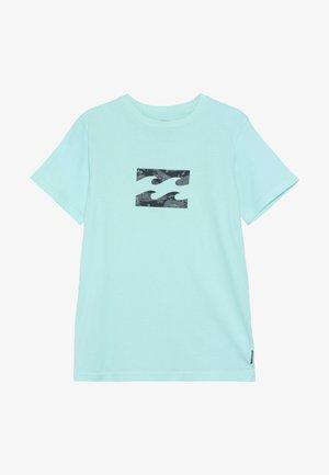 TEAM WAVE TEE BOY - T-Shirt print - spearmint