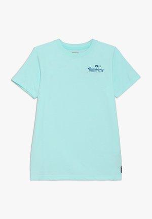 PALM SPIN TEE BOY - T-shirt imprimé - spearmint