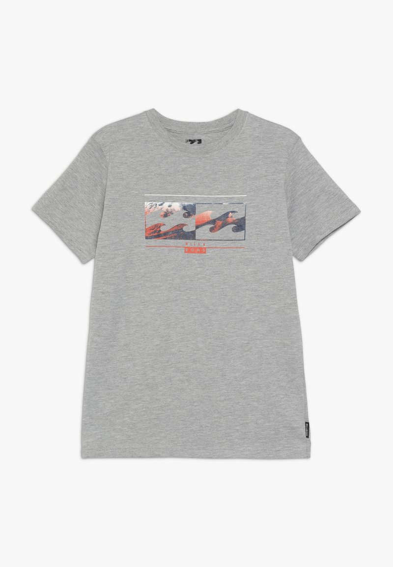 Billabong - INVERSED TEE BOY - Print T-shirt - grey heather