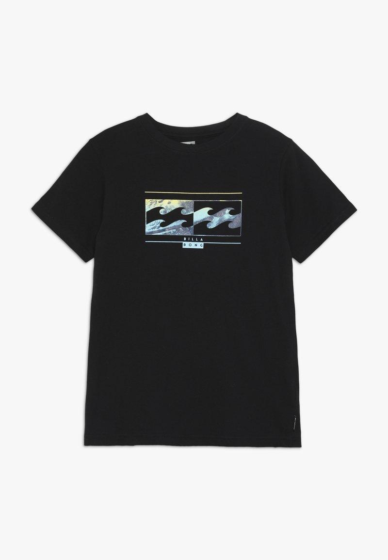 Billabong - INVERSED TEE BOY - Print T-shirt - black