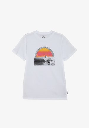 HIGH LINE TEE BOY - T-shirt imprimé - white