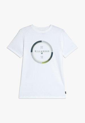 FULL ROTATOR TEE - T-shirts print - white