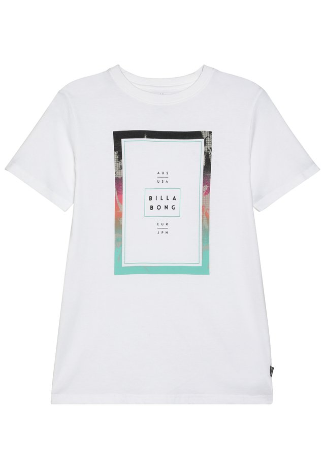 TUCKED BOY - T-shirt con stampa - white