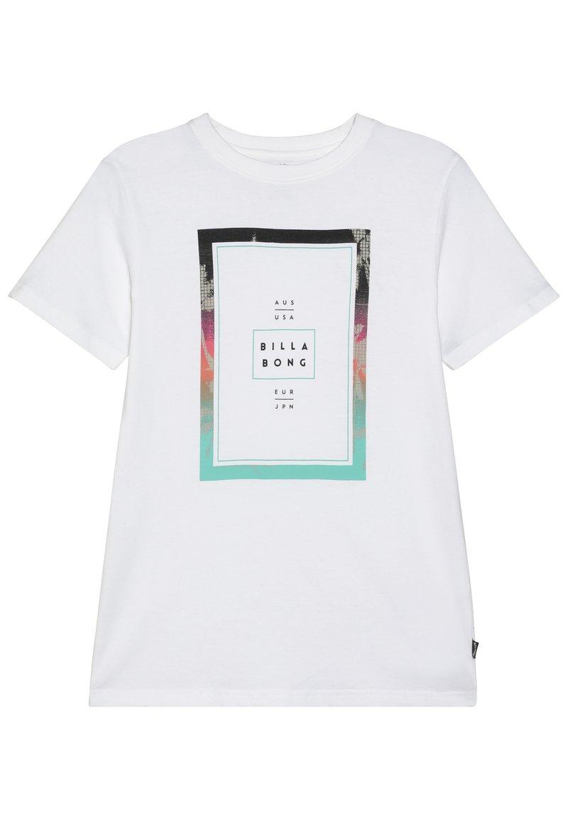 Billabong - TUCKED BOY - Camiseta estampada - white