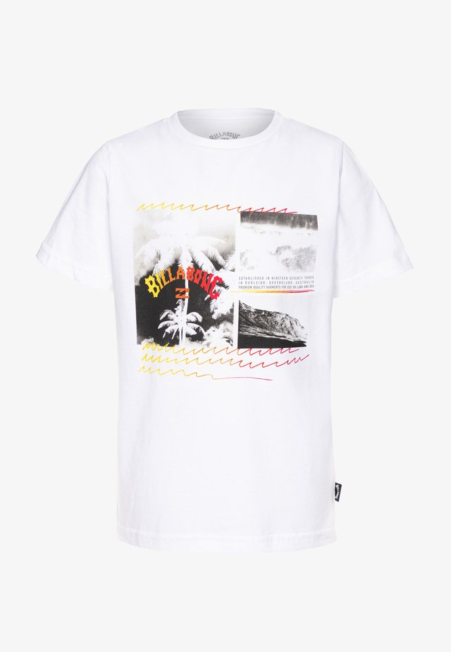 CRASH TEE BOY - T-shirt con stampa - white