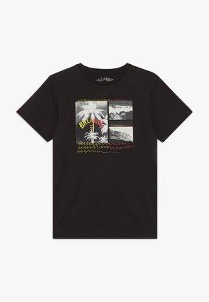 CRASH TEE BOY - T-shirt print - black