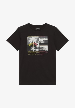 CRASH TEE BOY - T-shirts med print - black