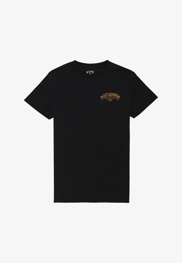 PIPE MASTER TUBE - T-shirt print - black