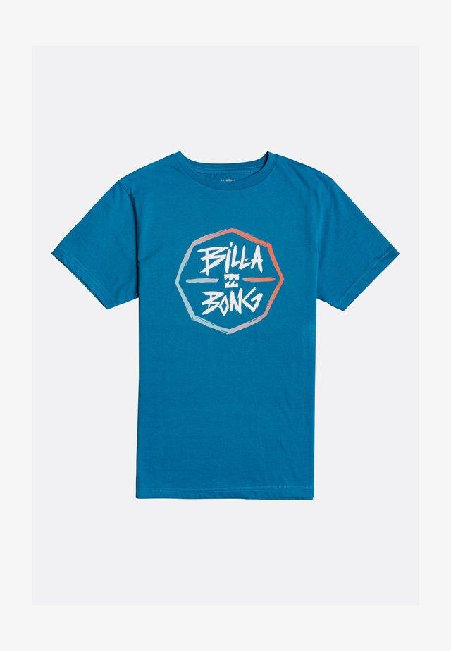 T-shirt imprimé - bay blue