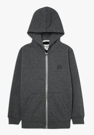 ALL DAY ZIP BOY - Zip-up hoodie - black
