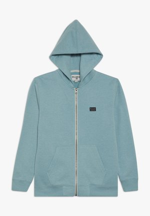 ALL DAY ZIP BOY - Zip-up hoodie - bermuda