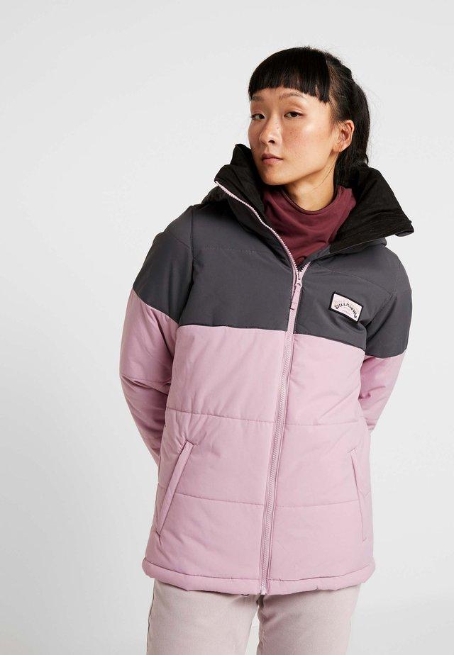 RIDER - Snowboard jacket - mauve