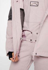 Billabong - SAY WHAT - Snowboardová bunda - light pink - 6