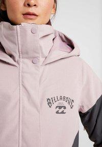 Billabong - SAY WHAT - Snowboardová bunda - light pink - 9