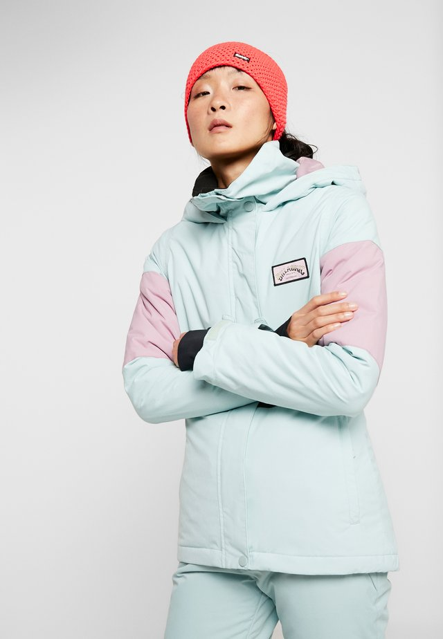 SAY WHAT - Chaqueta de snowboard - blue haze