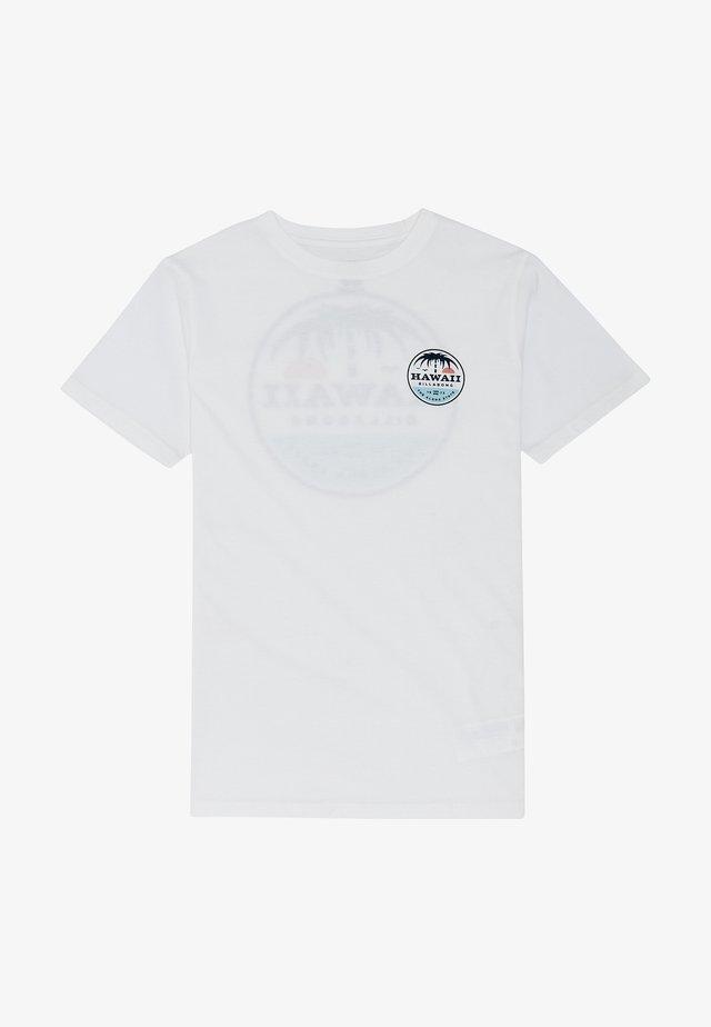 DREAMY PLACE - T-shirt print - white