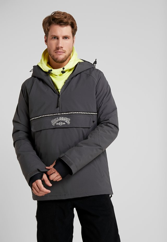 STALEFISH ANORAK - Snowboard jacket - iron