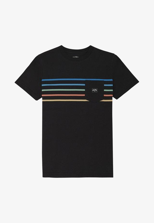 RIOT SPINNER - T-shirt print - black