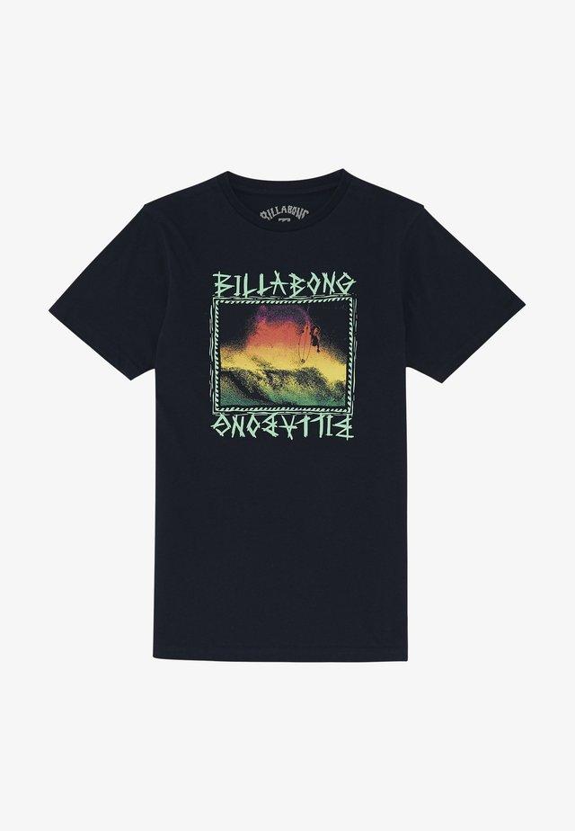 BONE YARD  - T-shirt print - navy