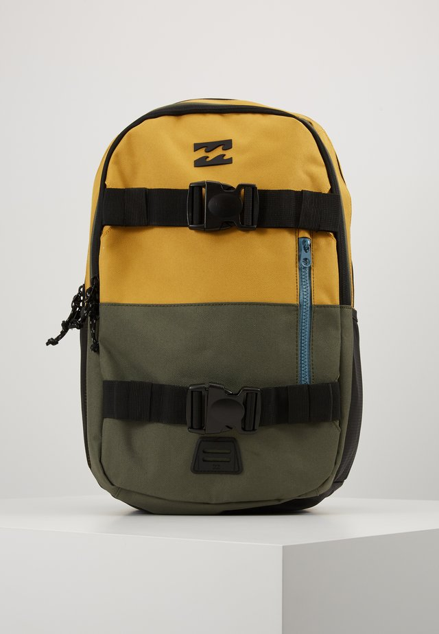 COMMAND SKATE - Tagesrucksack - yellow/green/black