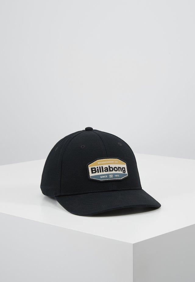 WALLED SNAPBACK - Cap - black